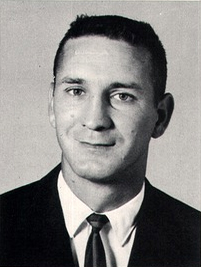 Ennis ISD teacher Don Essary in the 1965 Ennis High School Cicerone yearbook.