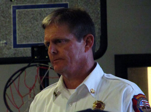 Waxahachie Fire Chief Ricky Boyd offered his department's services to ESD #6 board members should they decide to close the ESD #6 Volunteer Fire Department..