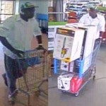 Red Oak police are asking for the public to help identify the theft suspect shown in this photo.