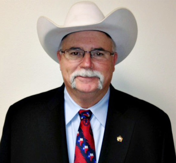 Ellis County Sheriff Johnny Brown.