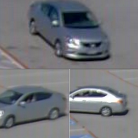 Photo of vehicle that dropped off two suspects who stole a vehicle on Sunday, March 27, 2016 from the Midlothian WalMart parking lot.