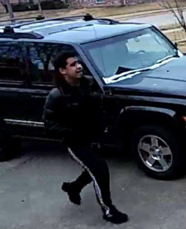 "A light skin male between 5'04"" and 5'08"" driving a dark gray SUV is being sought in connection with January 2018 package thefts from the front porches of Red Oak residences. Call Red Oak Police at 972-775-3333 if you can help identify the suspect."