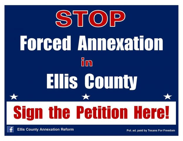 Stop Forced Annexation